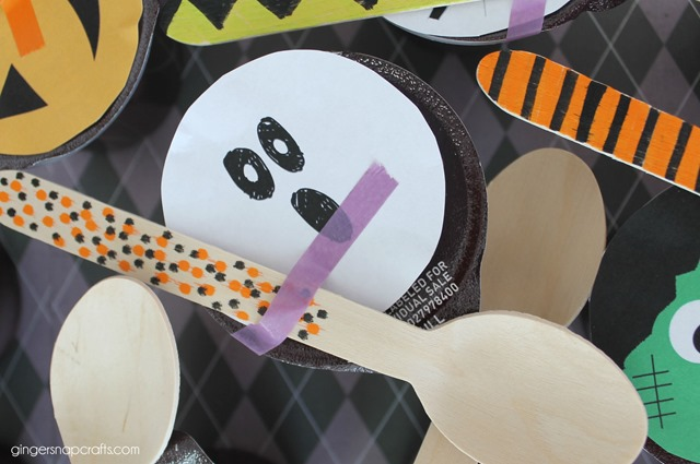 Halloween Pudding Cup Printables