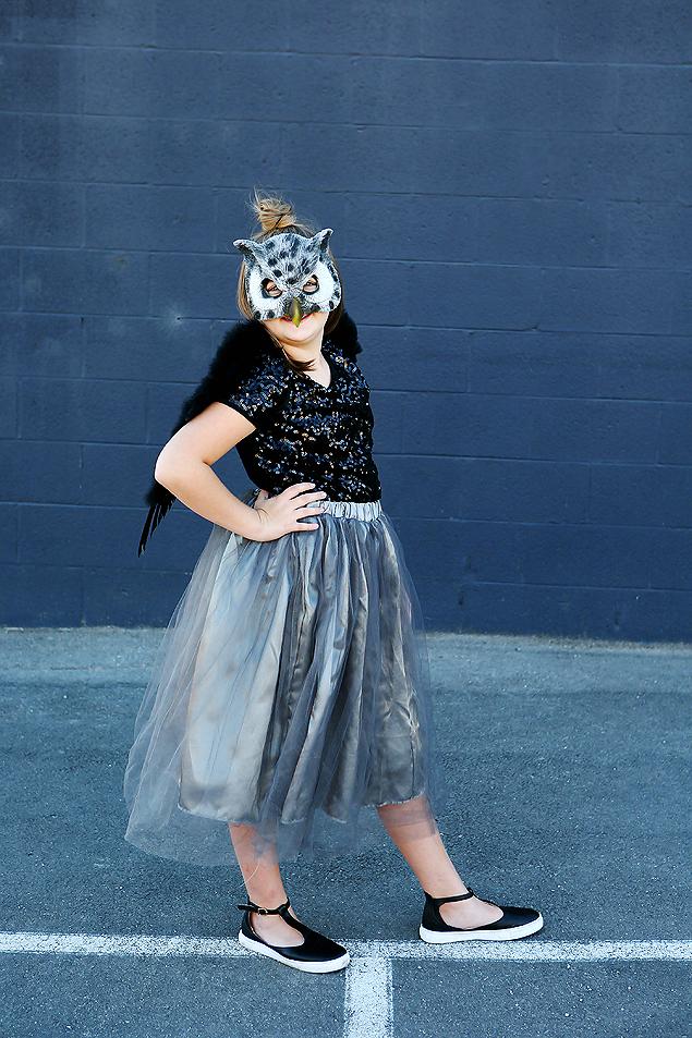 Good Halloween Costumes For Tween Girls | Woodland Glam Owl