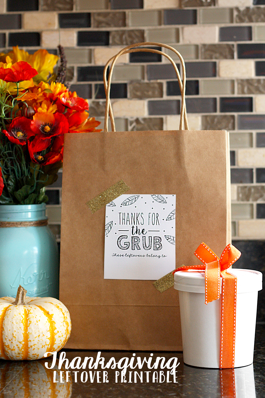 Thanksgiving Leftovers Printable | Thanksgiving Leftovers Containers