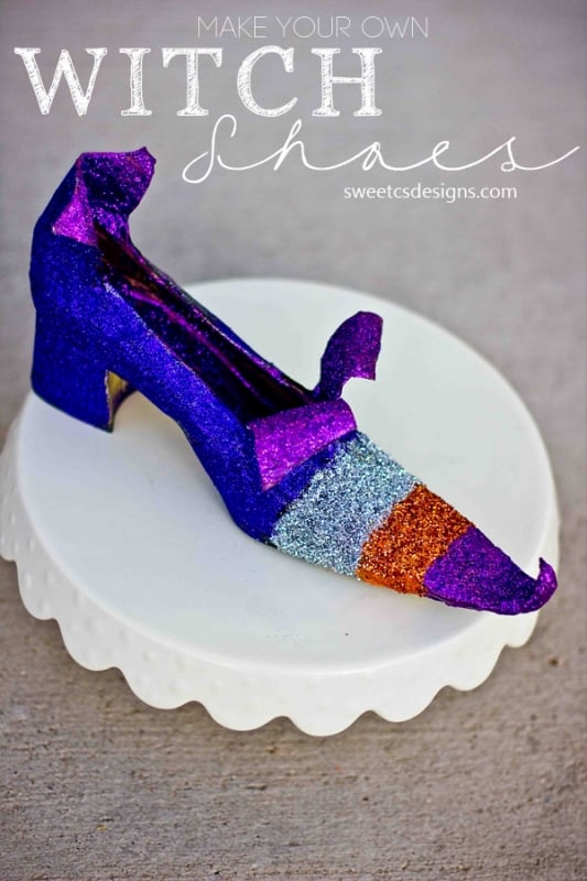 DIY Witch Shoes from Sweet C's