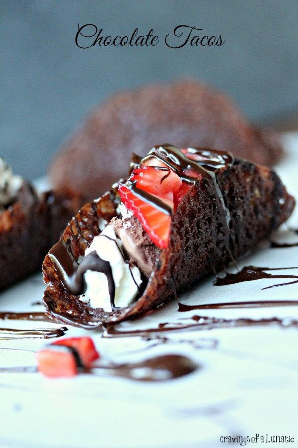 Chocolate Tacos via Cravings of a Lunatic