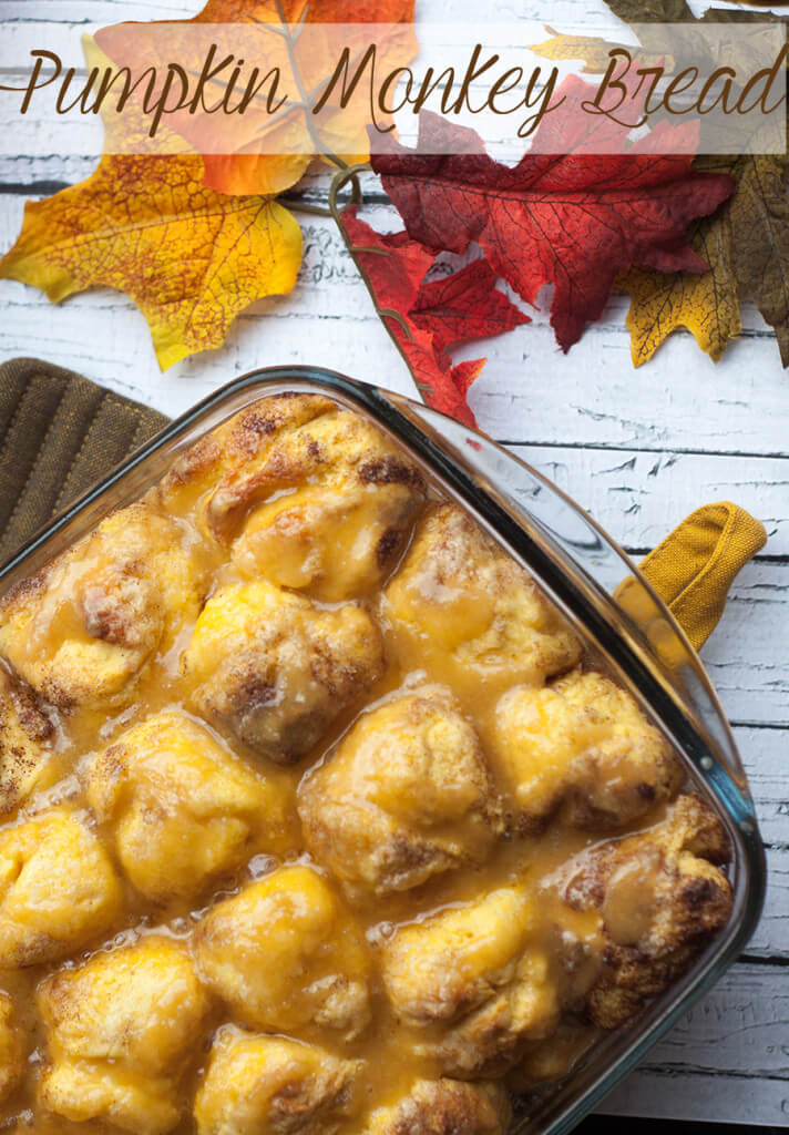 Pumpkin Monkey Bread via Life Sew Savory