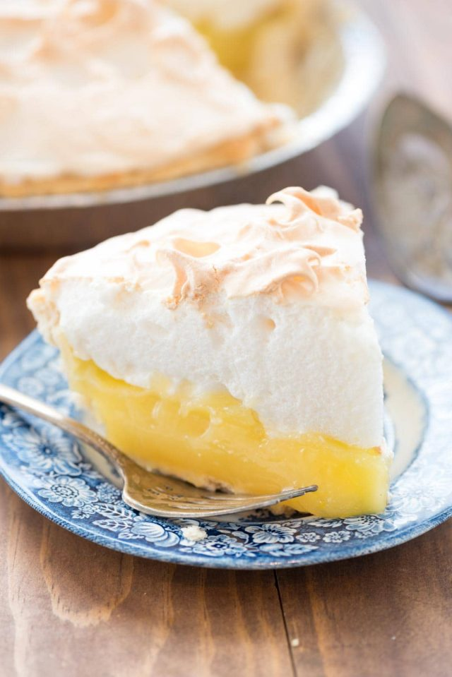 Lemon Meringue Pie from Crazy for Crust