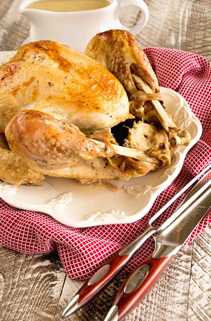 Slow Cooker Make Ahead Turkey from Julie's Eats & Treats
