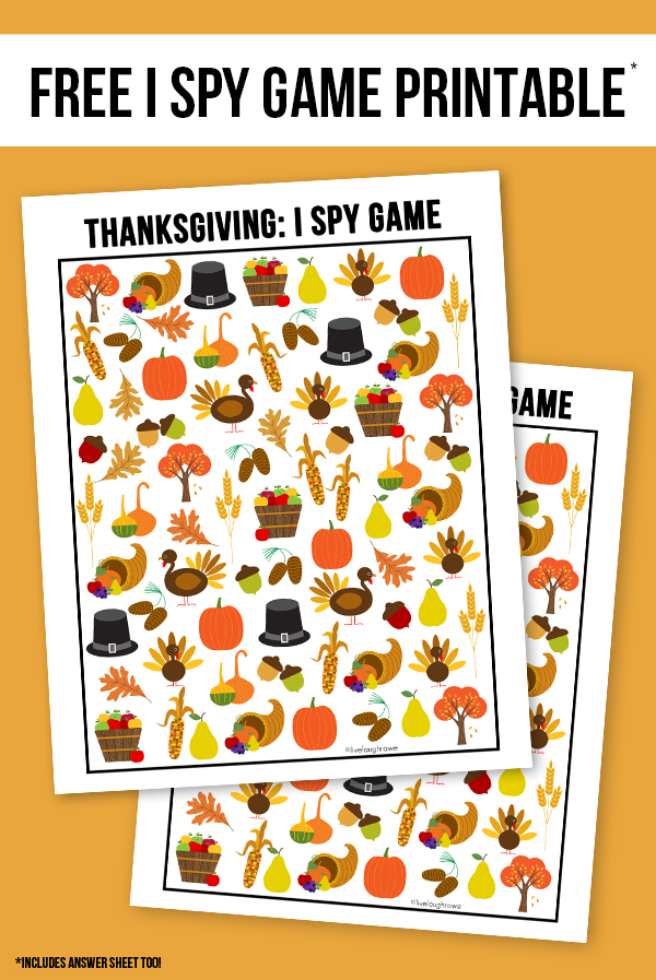Thanksgiving I Spy Printable from Live Laugh Rowe