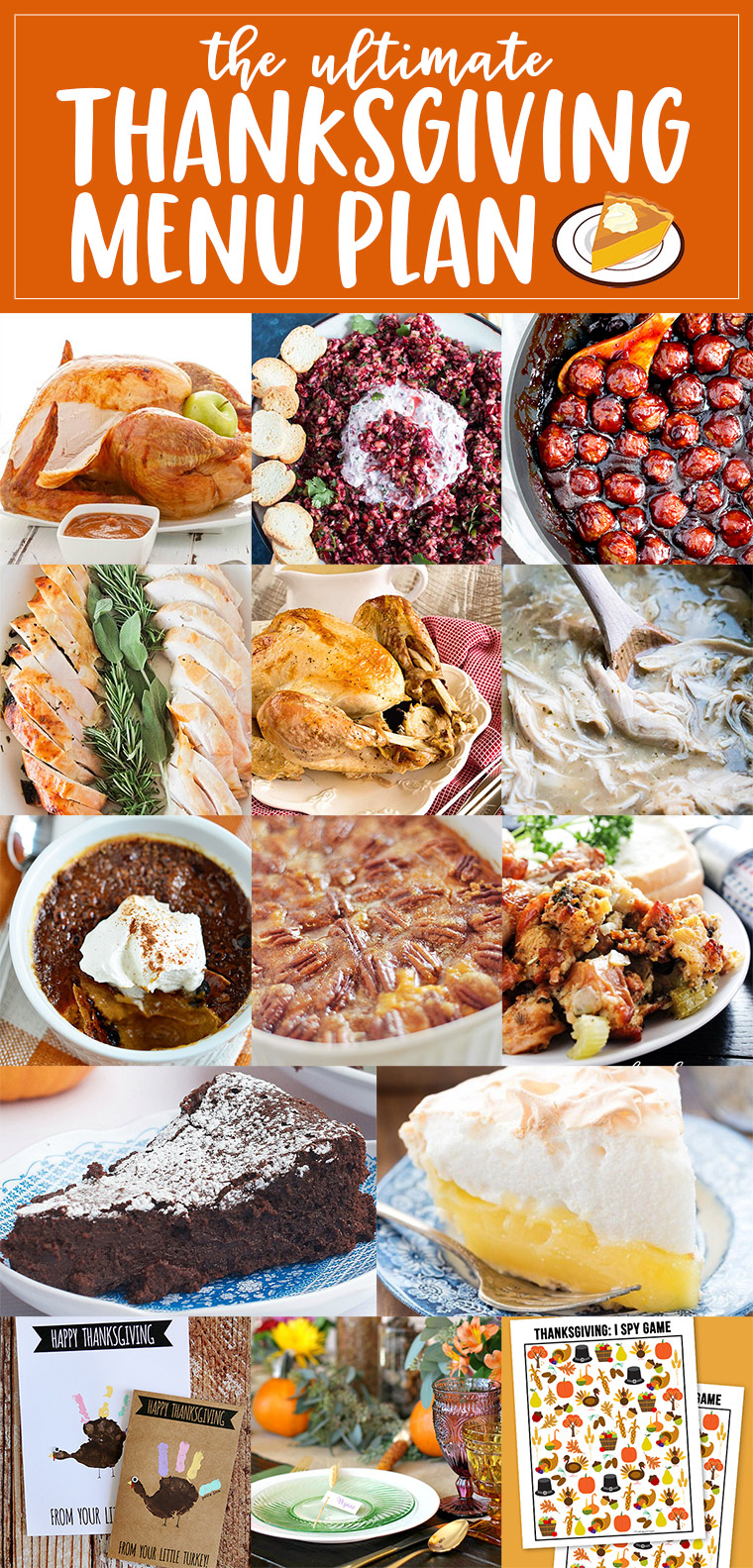 The Perfect Thanksgiving Menu Plan