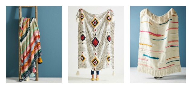 Our Friday Five-Anthropologie Throw