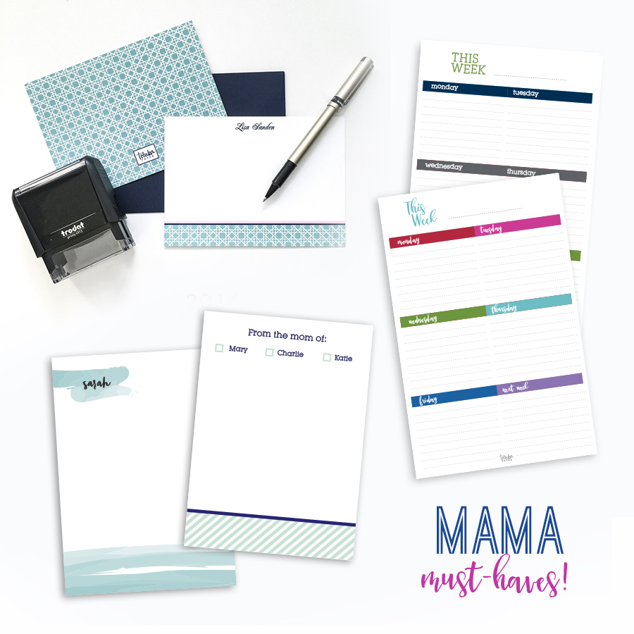 Mama Must-Haves Necessary Notepads