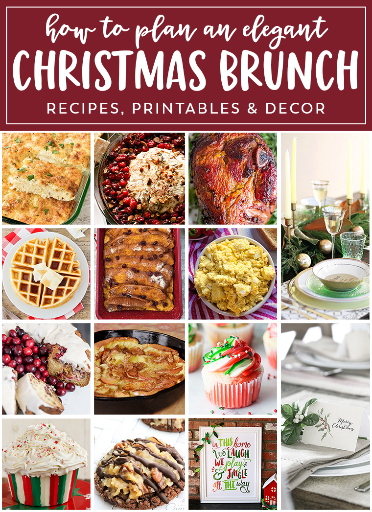 planning the perfect christmas brunch recipes decor ideas and free printables to help you - Christmas Brunch