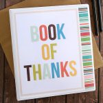 Printable Book of Thanks