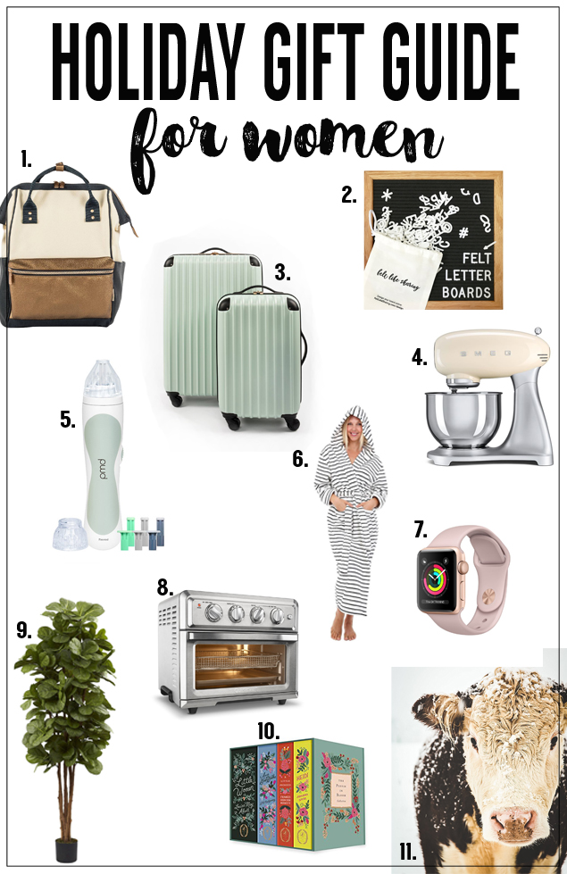 Holiday Gift Guide For Women | Christmas Gift Ideas