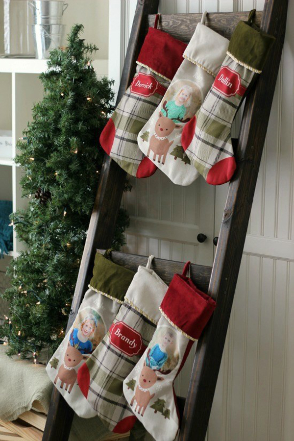 DIY Stocking Ladder via Gluesticks Blog