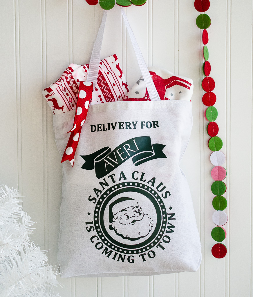 DIY Santa Claus Delivery Sack