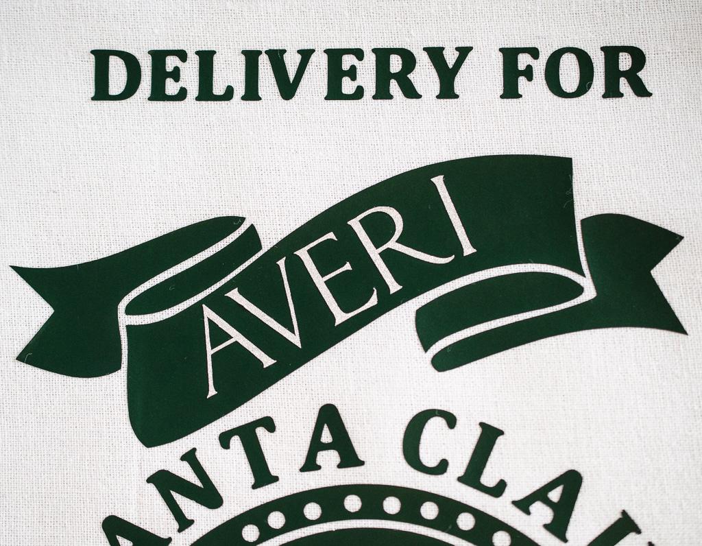 DIY Santa Claus Delivery Sack