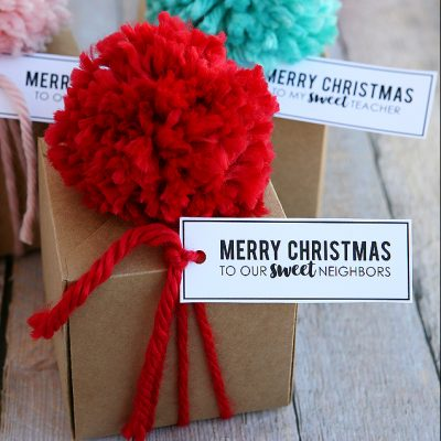 Christmas Treat Gift Boxes