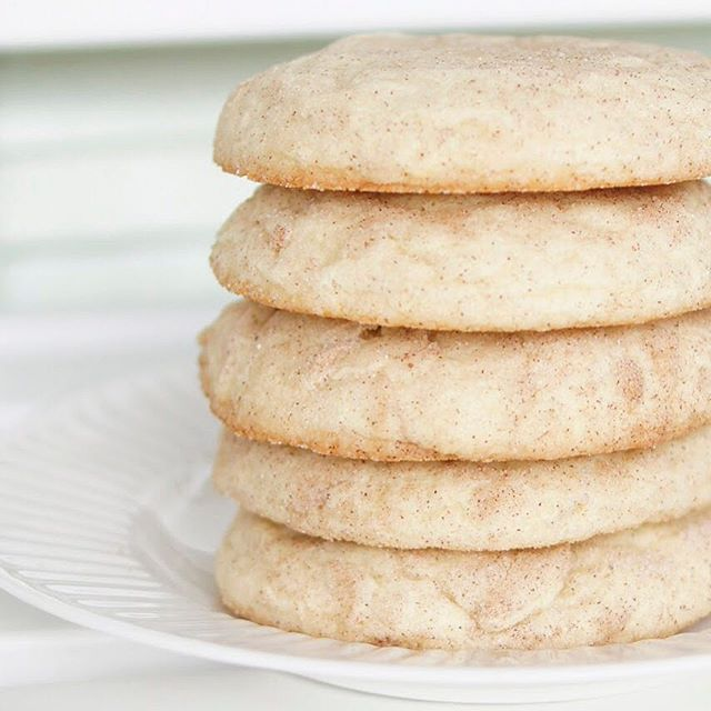 Heavenly Soft Snickerdoodles