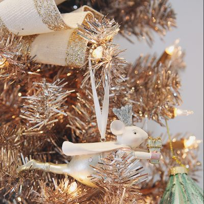 Charming Vintage Christmas Tree