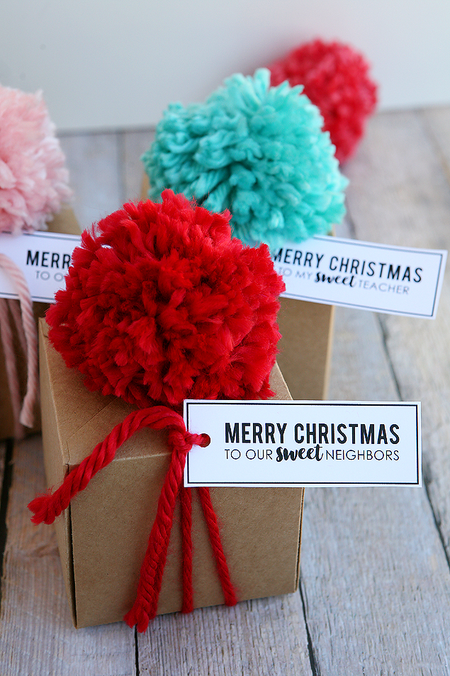Christmas Treat Gift Boxes - DIY Christmas Gift