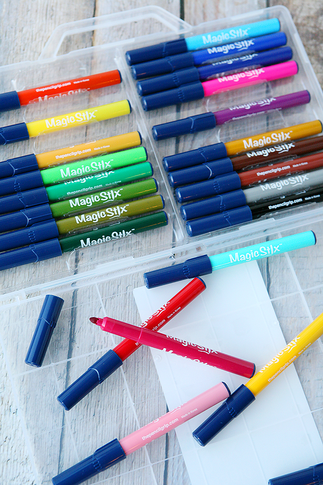 Magic Stix | The best washable markers that will not dry out with the cap off for 7 days. Too cool!