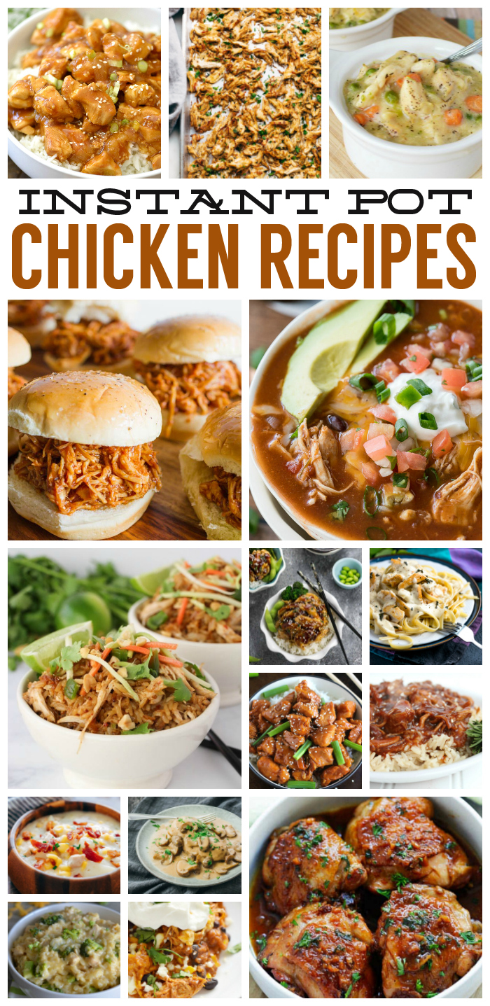 Delicious Instant Pot Chicken Recipes | #instantpot #chicken