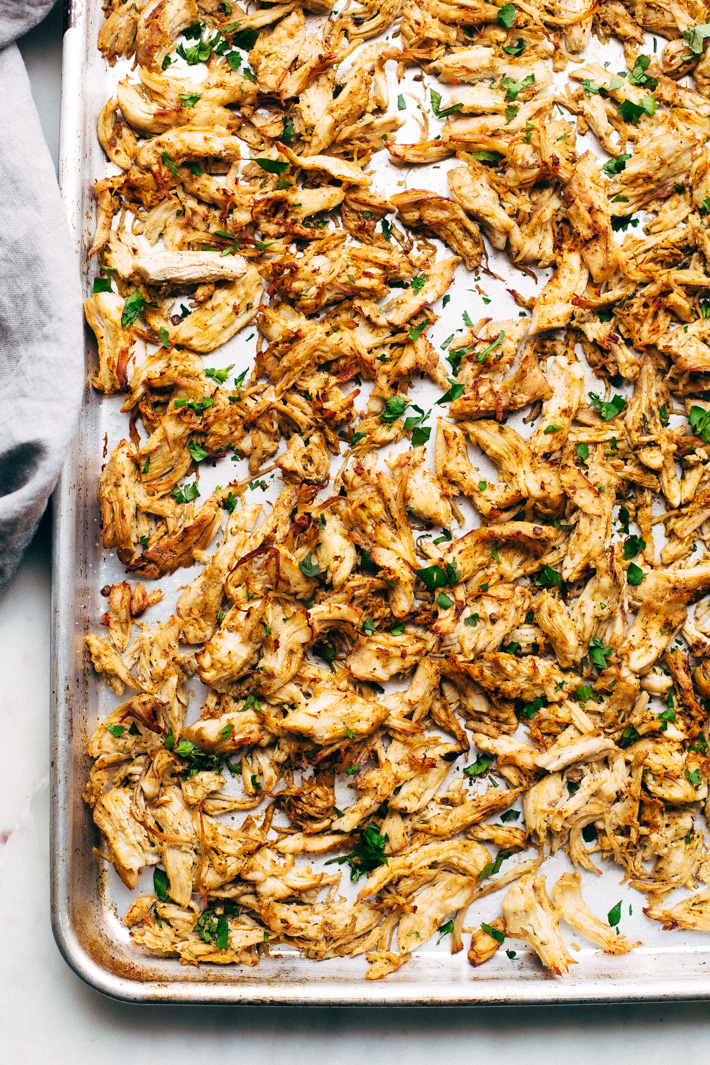 Pressure Cooker Crispy Chicken Carnitas