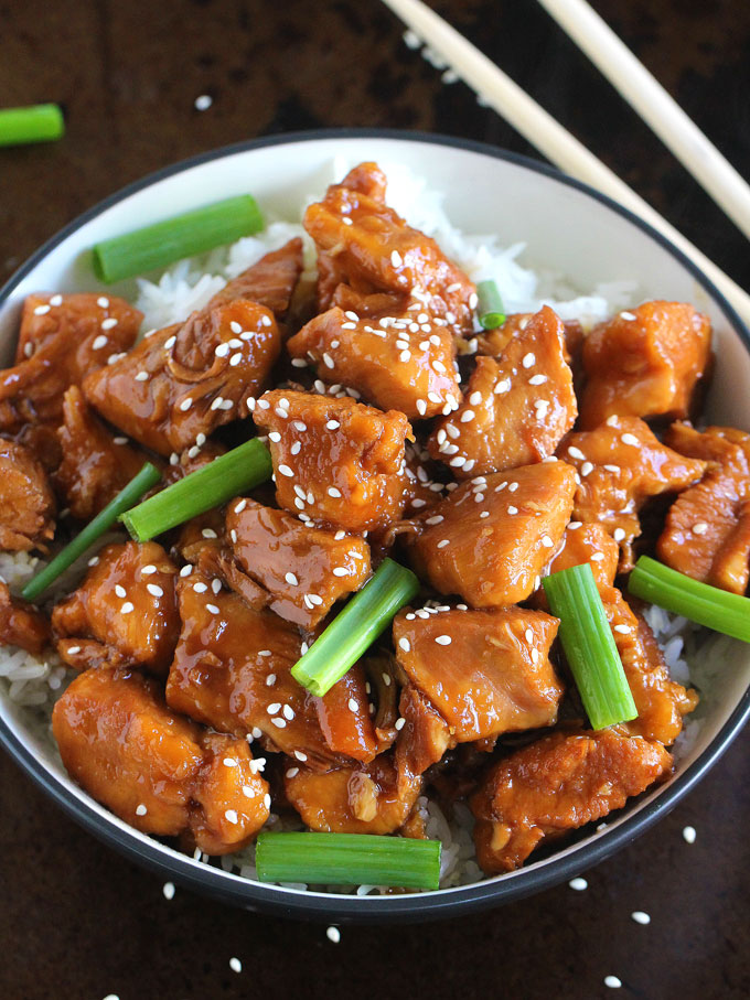 Instant Pot Mongolian Chicken