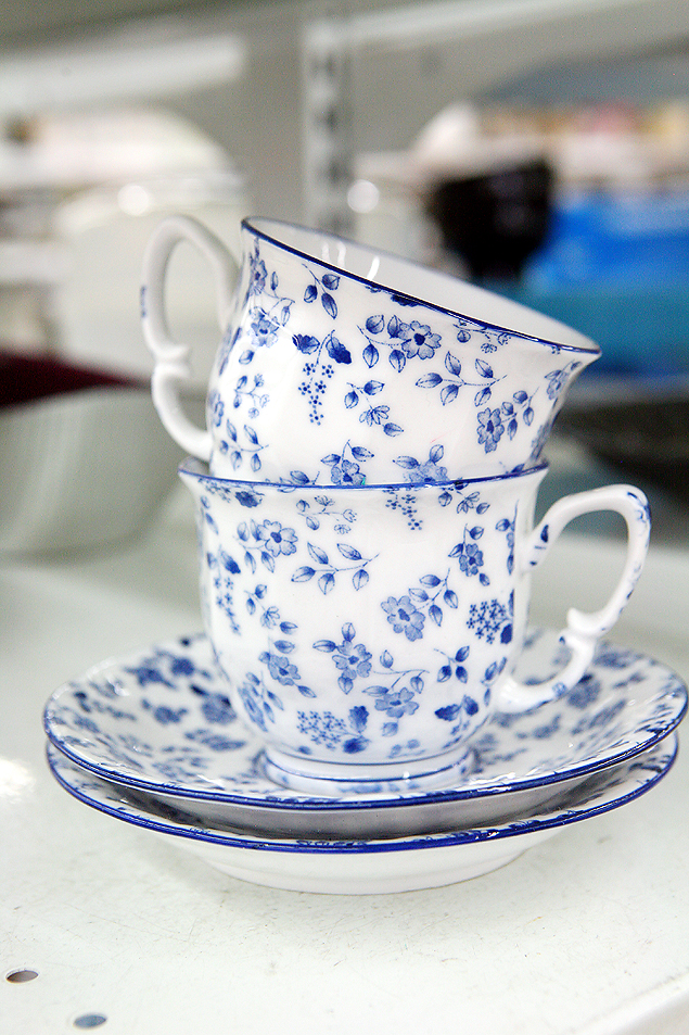 Cup and Saucers from Savers