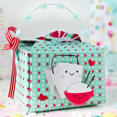 The Cutest DIY Valentine Gift Boxes