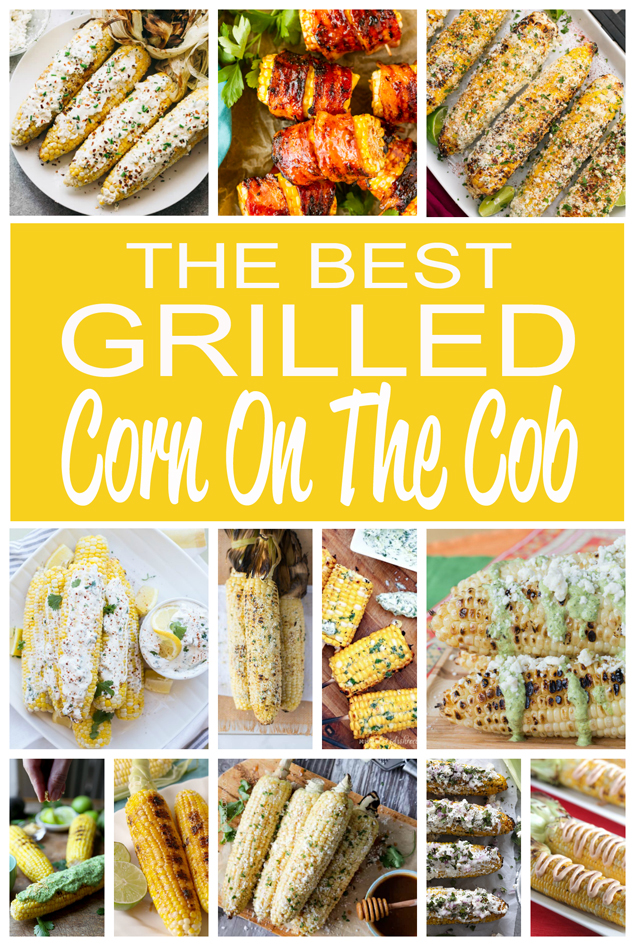 Grilled Corn On The Cob | Delicious ways to grill corn on the cob