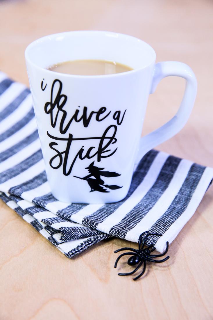 Halloween SVG - I Drive A Stick