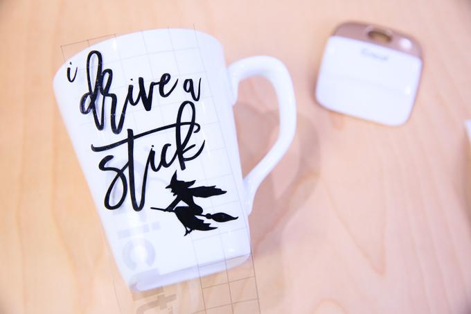 Halloween Mug | I Drive A Stick