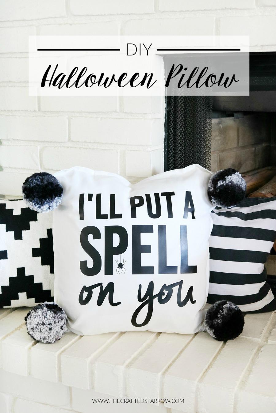DIY Halloween Pillow
