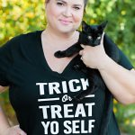 Trick or Treat Yo Self Halloween Shirt