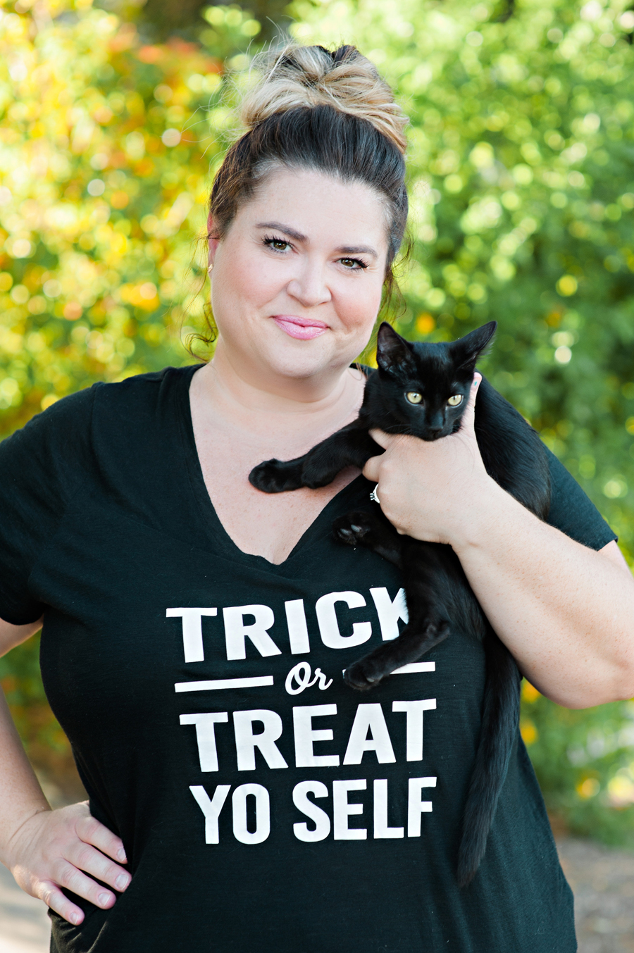 Trick or Treat Yo Self Halloween Shirt