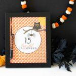 Halloween Countdown Printable