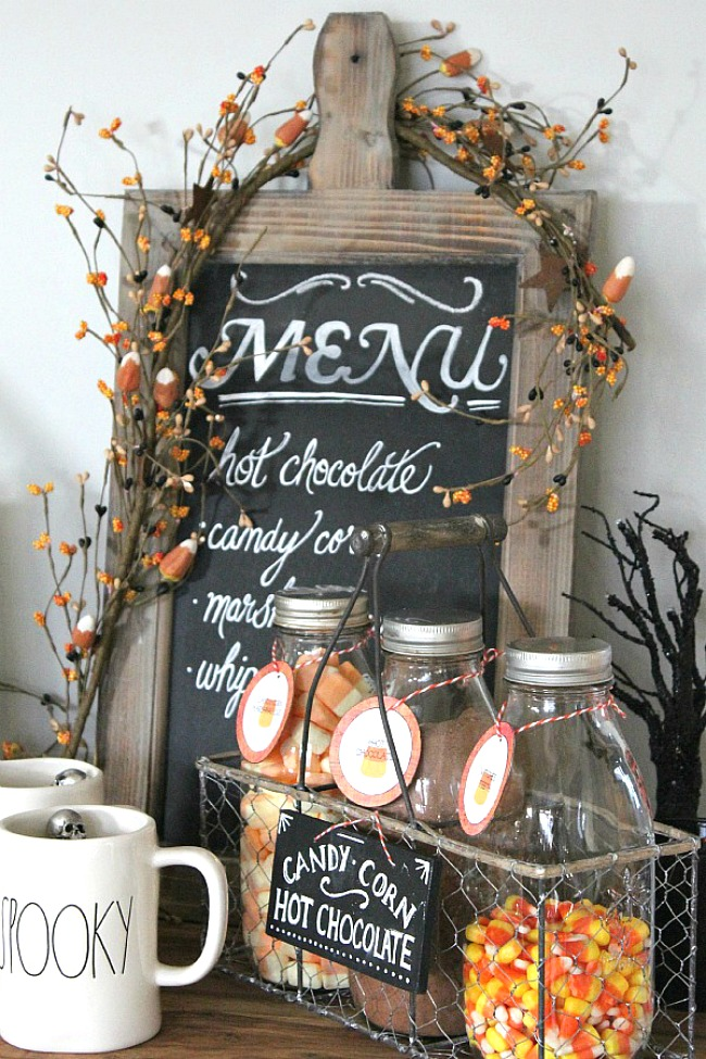 Halloween Hot Chocolate Bar