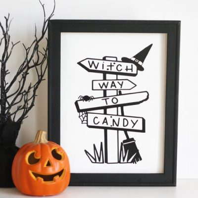 Halloween Reverse Canvas