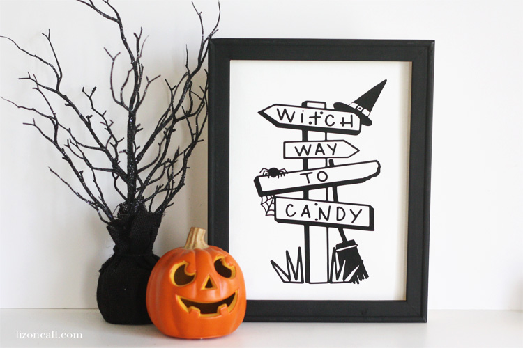 Fun and Festive Halloween Reverse Canvas