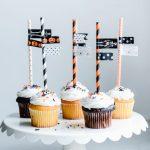 Fun Halloween Cupcake Toppers