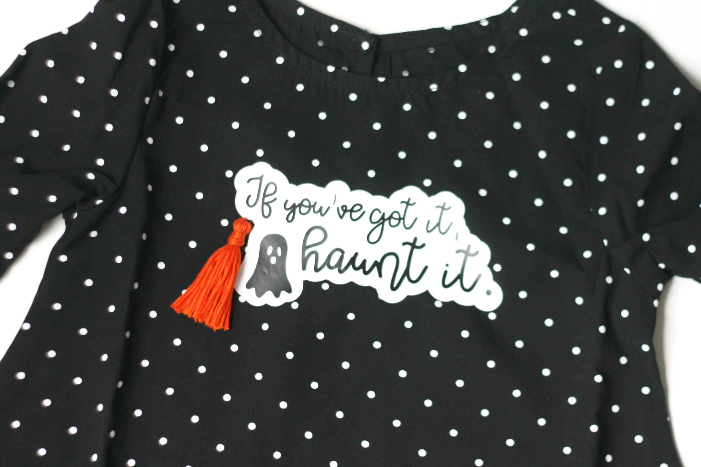 Free cut file for a If You've Got It, Haunt It Dress