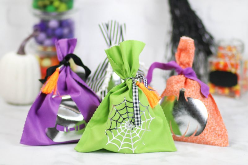 Adorable No Sew Halloween Goodie Bags | Fun Halloween Crafts