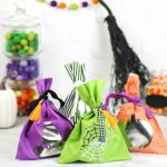 No Sew Halloween Goodie Bags