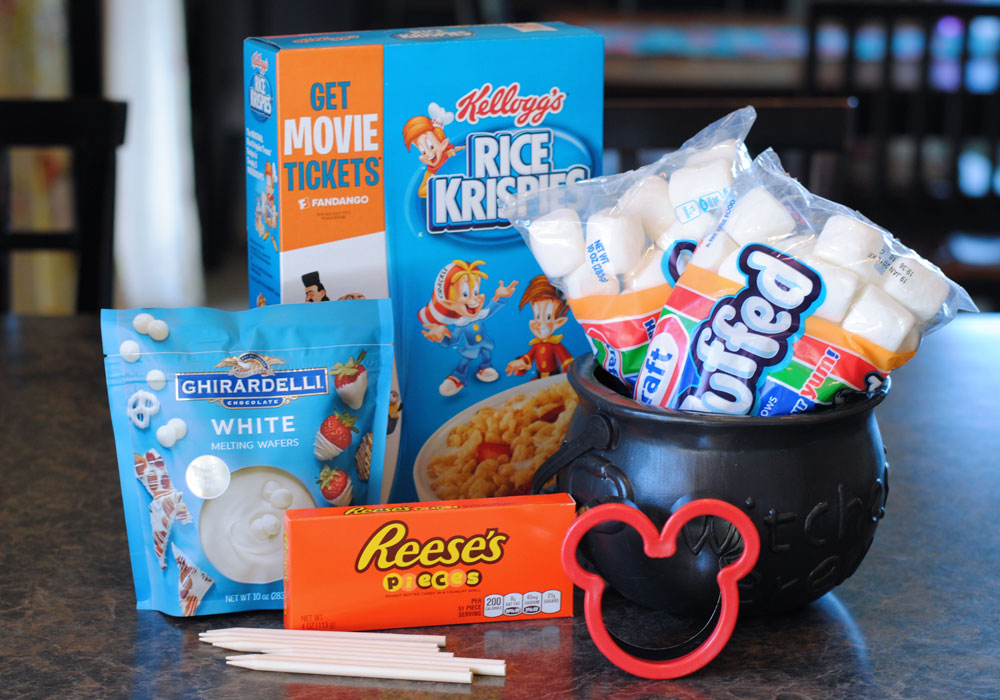 Mummy Mickey Mouse Crispy Treats Ingredients