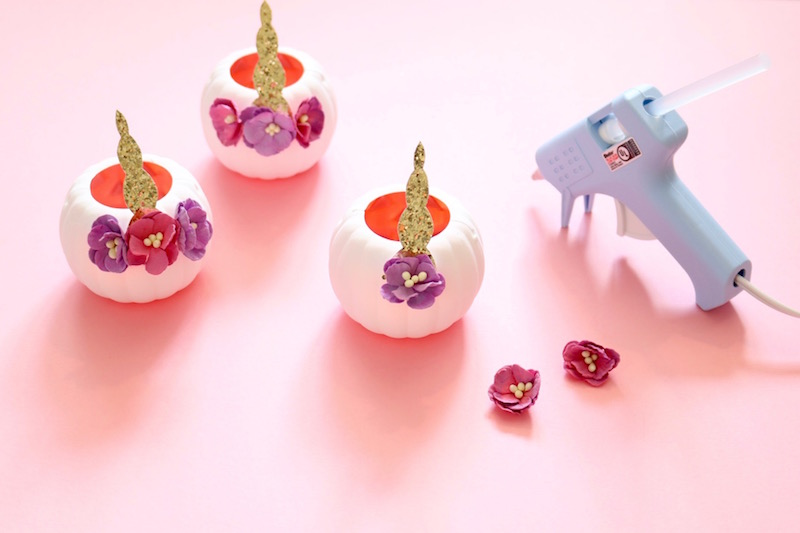 The Sweetest Unicorn Pumpkin Candy Holders