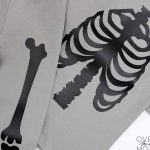 DIY Skeleton Pajamas