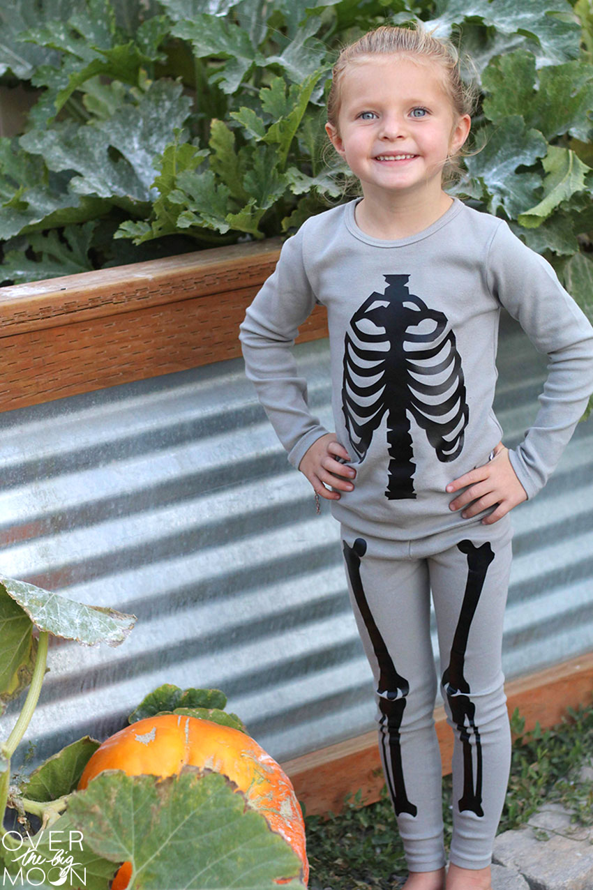 The Cutest Toddler Skeleton Pajamas