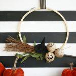 Halloween Hoop Wreath