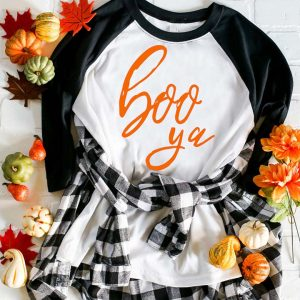 How to Use Heat Transfer Vinyl. Boo Ya Halloween Tee