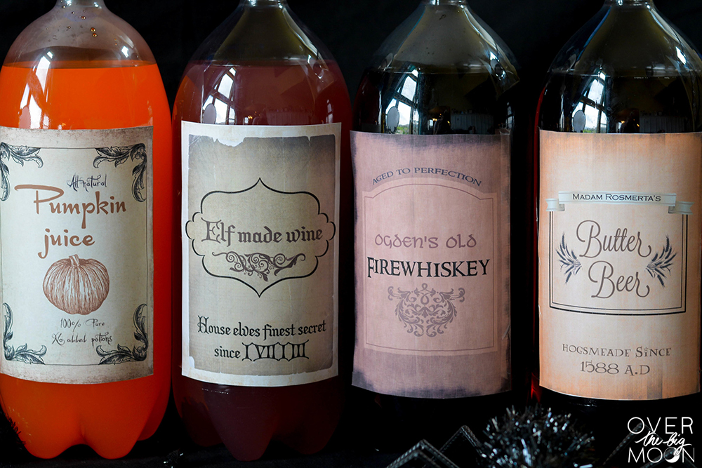 Harry Potter Drink Printables