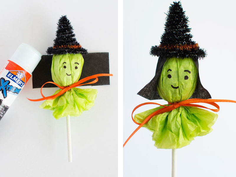 Halloween Witch Lollipops